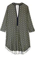 Thakoon Addition Printed Stretch-twill Mini Dress - Lyst
