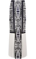 Mary Katrantzou Recta Lace Skirt - Lyst