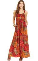 American Rag Printed Maxi Dress - Lyst