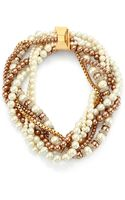 Kate Spade Parlour Faux Pearl Twisted Statement Necklace - Lyst