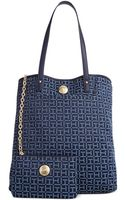 Tommy Hilfiger Jacquard Th Pockets Ns Tote - Lyst