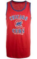 47 Brand Mens Chicago Cubs Tilldawn Tank - Lyst