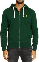 Polo Ralph Lauren Sweater Classic Hooded Fleece Zip - Lyst
