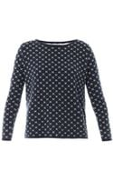 Chinti And Parker Crosses Cotton Sweater - Lyst