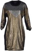 April, May Short Dress - Lyst