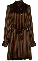 Fendi Short Dress - Lyst