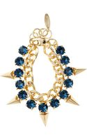Joomi Lim Crystal Pyramid Bracelet - Lyst