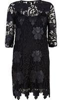 River Island  Lace Shift Dress - Lyst