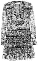 Thakoon Addition Printed Cotton and Silk-blend Mini Dress - Lyst