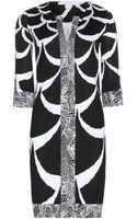 Diane Von Furstenberg Rose Long Silk Tunic Dress - Lyst
