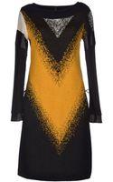Pianurastudio Short Dress - Lyst