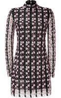 Mary Katrantzou Geometric Print Minidress - Lyst