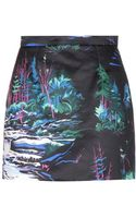 Balenciaga Cotton Skirt - Lyst