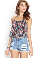Forever 21 Vibrant Floral Print Cami - Lyst