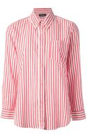 Isabel Marant Striped Shirt - Lyst