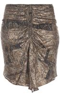 Isabel Marant Palmi Lurex Pencil Skirt - Lyst