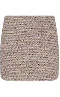 Alice + Olivia Elana Tweed Mini Skirt - Lyst