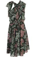 Marni Exclusive Printed Technocrepe Dress - Lyst