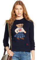 Polo Ralph Lauren Intarsia-knit Bear Sweater - Lyst