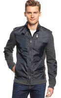 Calvin Klein Full Zipper Jacket - Lyst
