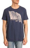Denim & Supply Ralph Lauren Blue Flag Tshirt - Lyst