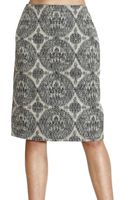 Valentino Skirt Tweed - Lyst