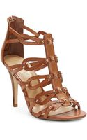 Ivanka Trump Mallorie Studded Gladiator Leather Sandals - Lyst