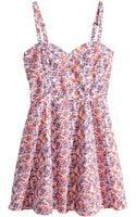 H&M Cotton Dress - Lyst