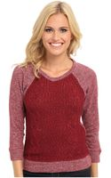 Lucky Brand Sweater Front Pullover - Lyst