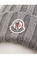 Moncler Ribbed Beanie - Lyst