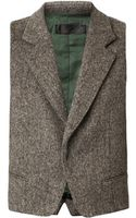 Haider Ackermann Wool Waistcoat - Lyst