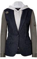 Veronica Beard Wool Blend Army Sleeve Jacket - Lyst