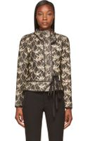 Isabel Marant Black Quilted Orval Jacket - Lyst