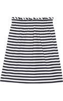 J.Crew Striped Cottonpoplin Skirt - Lyst