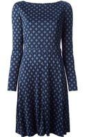 Tory Burch Patterned Dress - Lyst