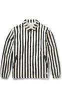 Neighborhood Striped Cotton-twill Jacket - Lyst