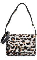 Marni Trunk Small Leopard Bag - Lyst