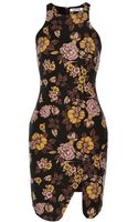 Elizabeth And James Bardot Woolblend Sheath Dress - Lyst