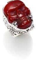 King Baby Studio Skull Ring - Lyst