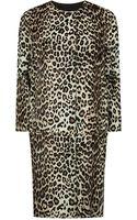 Max Mara Edro Leopard Print Coat - Lyst