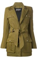 Balmain Military Jacket - Lyst