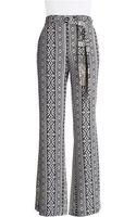 Jessica Simpson Aztec Crepe Pants - Lyst