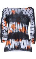 Charlott Long Sleeve Sweater - Lyst