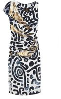 Vivienne Westwood Anglomania Shaman Aztec Print Dress - Lyst