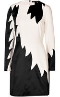 Marc By Marc Jacobs Crepe Flame Dress - Lyst