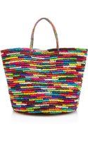 Sensi Studio Maxi Straw Tote in Multicolor - Lyst