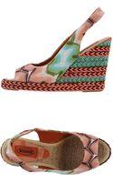 Missoni Sandals - Lyst