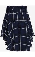 A.L.C. Alc Asymmetric Belted Mini Skirt - Lyst