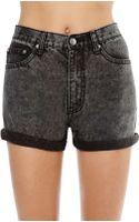 Nasty Gal Cheap Monday Thrift Short Black - Lyst