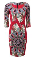 Etro Mosaic Dress - Lyst